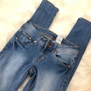 H&M Super Skinny Super Low Jeans, Size 26/32